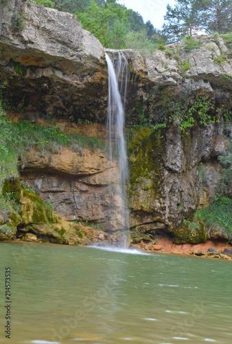 Siete cascadas de Campdevanol Gerona España        Wall mural