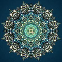Exquisite Arabesque Pattern