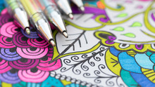 Adult Coloring Book, New Stres...