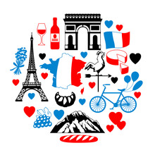 France Background Design.