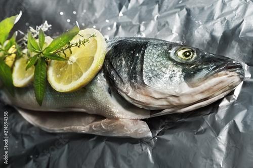 Foto op Plexiglas Koken Cooking trout