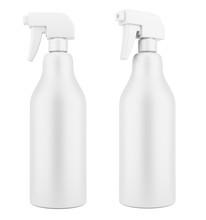 Blank Plastic Cleaner Spray Bo...