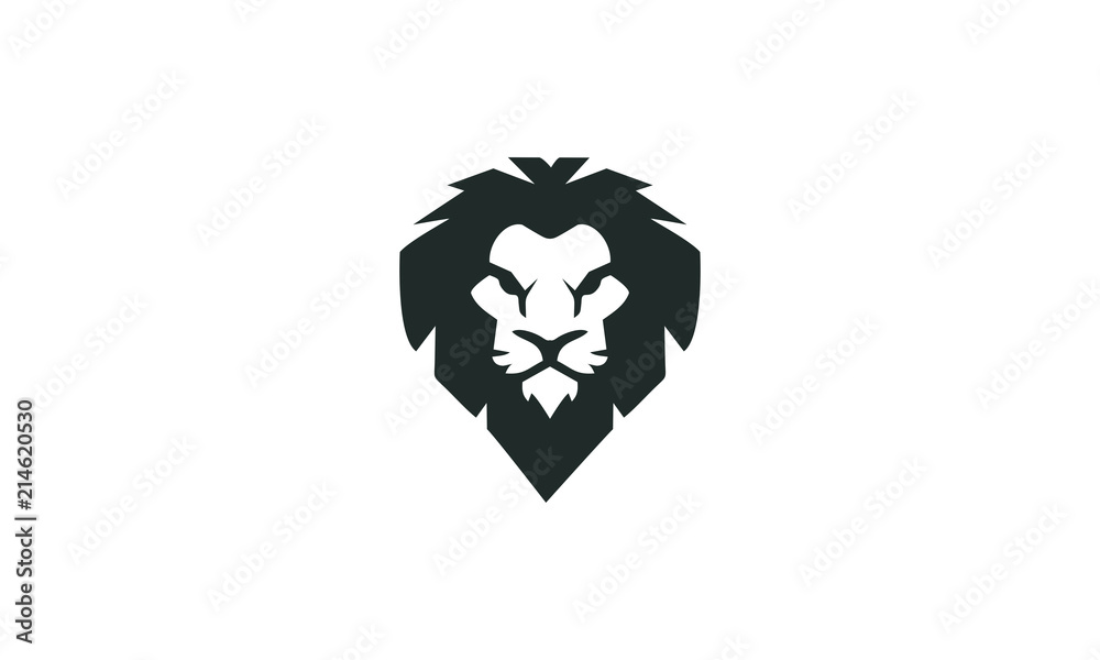 Fototapeta lion head
