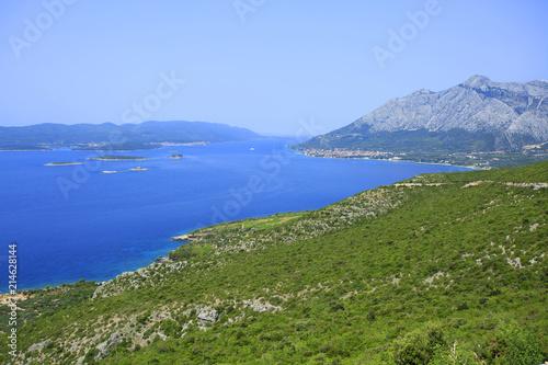 Fotografie, Obraz  Island Korcula - Croatia