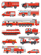 Fire Engine Vector Firefightin...