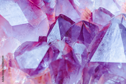 Photographie Crystal stone macro mineral surface