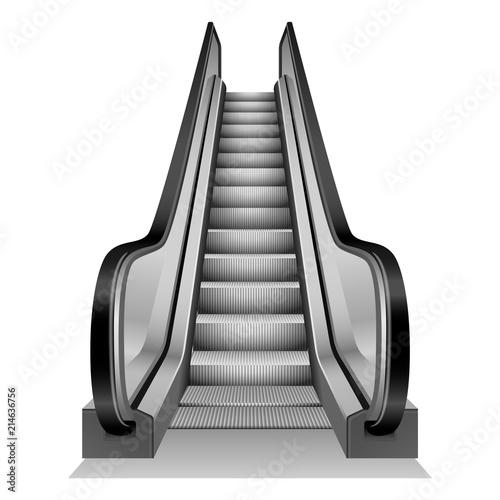 Fotografie, Obraz Escalator mockup