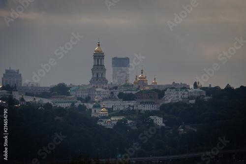 Foto op Plexiglas Kiev Famous Pechersk Lavra Monastery complex in Kiev, Ukraine