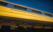 Dutch Trains At Amsterdam Cent...
