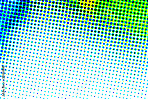 Photo sur Toile Pop Art Abstract halftone artistic background