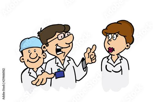 Photo Grupo de medicos, cientificos