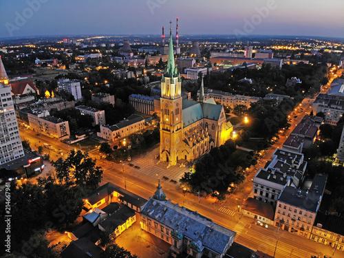 Fototapeta Łódź, Polska- Bazylika archikatedralna. obraz