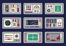 Different Control Panels, Cons...