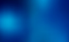Abstract Blue Blurred Gradient Background. Nature Backdrop.Vector Concept For Design, Banner Or Poster