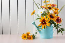 Bouquet Of Summer Flowers Like...
