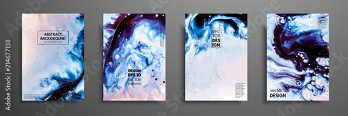 Abstract painting, can be used as a trendy background for wallpapers, posters, cards, invitations, websites Canvas Print