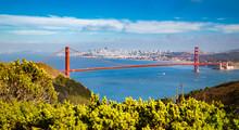 Golden Gate Bridge With San Fr...