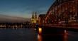Timelapse of Cologne, Germany, Europe / Zeitraffer von Köln, Deutschland
