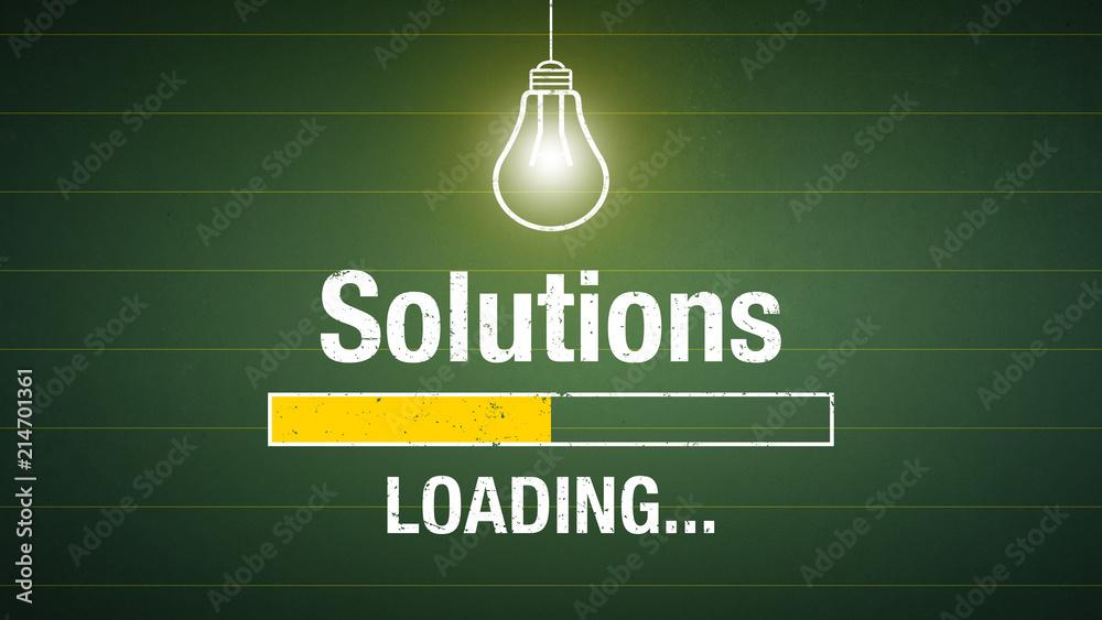 Fototapeta Solutions loading