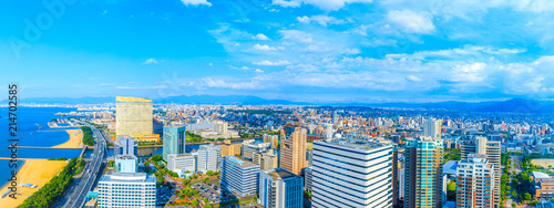 Slika na platnu 福岡タワーからの眺望