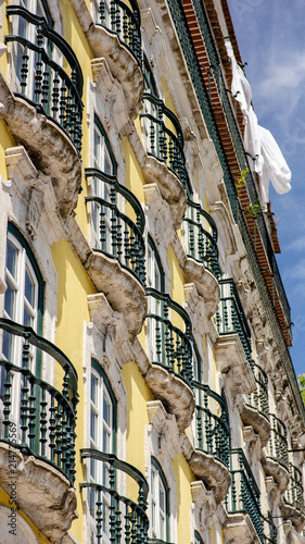 Balcony lisbon Wallpaper Mural