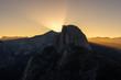Sunrise from Glacier Point in Yosemite National Park, California