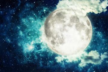 Obraz na Szkle Niebo moon