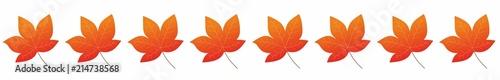 Pasek - liście jesienne