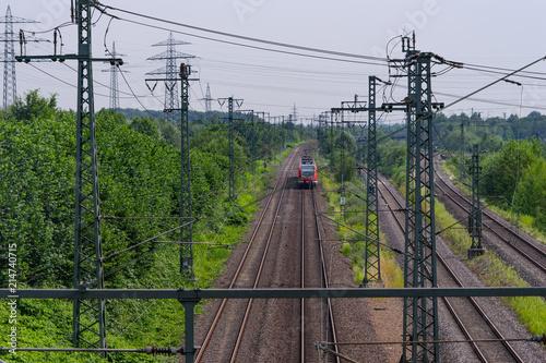 In de dag Spoorlijn Dortmund, Bahntrasse und S-Bahn