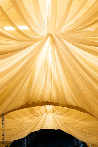 Outdoor Wedding Reception In Tent Buy This Stock Photo And
