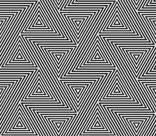Abstract Geometric Pattern Of ...