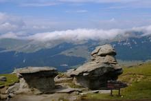 Rumunia, Góry Bucegi - Formy ...