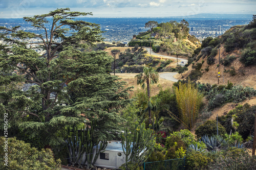 Photo  Runyon Canyon Park in Hollywood, Los Angeles