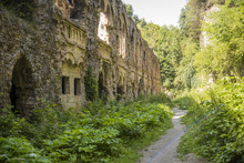 Overgrown Ruins Of The Old City