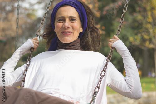 swinging mature wife