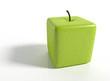 3D Eckiger Apfel Freisteler