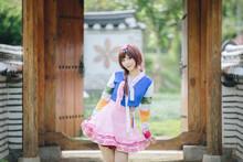 Portrait Of Hanbok Costume You...