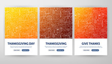 Thanksgiving Flyer Concepts