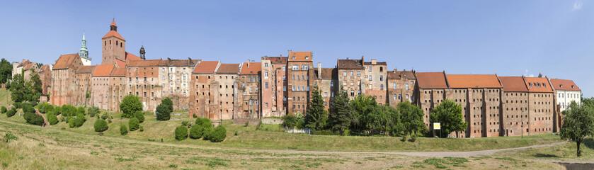 Grudziądz, panorama miasta