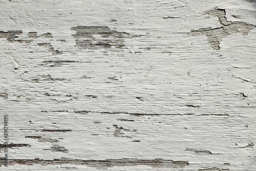 White wooden texture.
