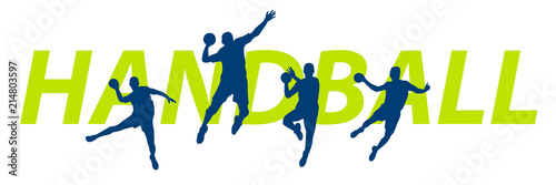 Canvas-taulu Handball - 177