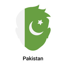 Pakistan Icon Vector Sign And ...