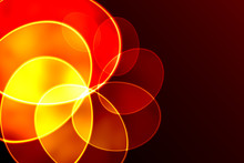 Abstract Colorful Rainbow Fractal Spiral Background, For Backdrop Or Banner Etc.