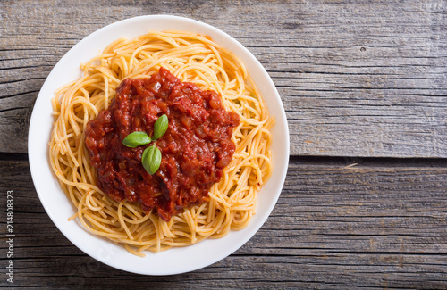 Fotografie, Obraz Italian pasta spaghetti