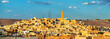 canvas print picture - View of Ghardaia, a city in the Mzab Valley. UNESCO world heritage in Algeria