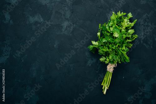Fresh parsley Fototapet