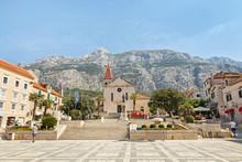 Center Of The Town Of Makarska...