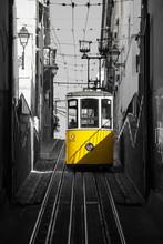 Tramway Ascenseur De Lisbonne