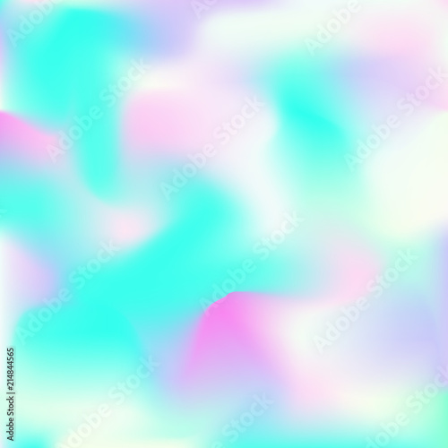 Fototapety, obrazy: Bright smooth mesh blurred futuristic pattern.