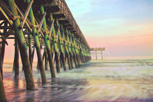 Second Avenue Pier During Suns...
